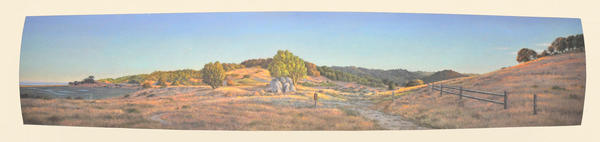 "Near China Camp      17"" x  80"""